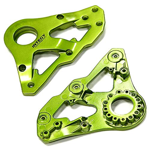 Integy RC Model Hop-ups C24939GREEN Replacement Right Side Plastic Main Frame for Snowmobile & Sandmobile Conversion