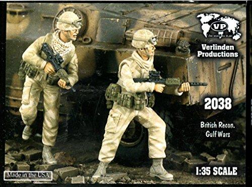Verlinden 1:35 British Recon Gulf Wars - 2 Resin Figures Kit #2038 (35 Verlinden 2 Figure)