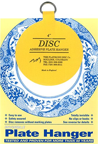 Flatiron Disc Invisible Plate Hanger, 4-Inch