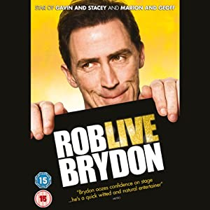 Rob Brydon Live Performance