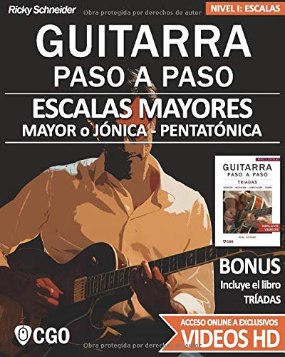 Escala mayor guitarra
