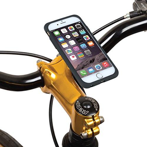 "Tigra® MountCase II iPhone 6/6S (4.7"") Waterproof Shock-Absorbent Ultra Slim Case and Bike Mount Kit with RainGuard"