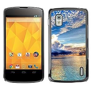 """For LG Nexus 4 E960 , S-type Naturaleza Hermosa Forrest Verde 98"""" - Arte & diseño plástico duro Fundas Cover Cubre Hard Case Cover"""