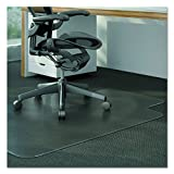 Universal Alera ALEMAT4553CLPL Studded Chair Mat for Low Pile Carpet, 45 x 53, Clear