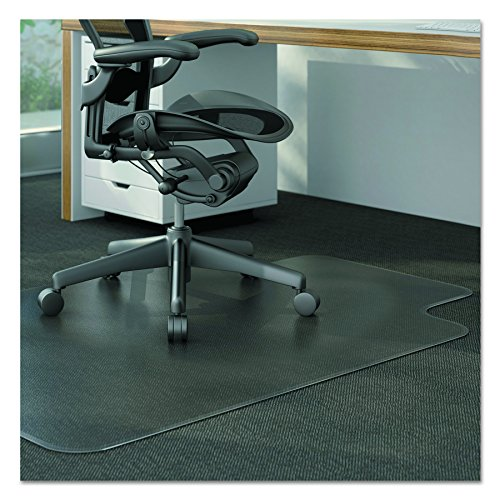 Universal Alera ALEMAT4553CLPL Studded Chair Mat for Low Pile Carpet, 45 x 53, Clear by Universal