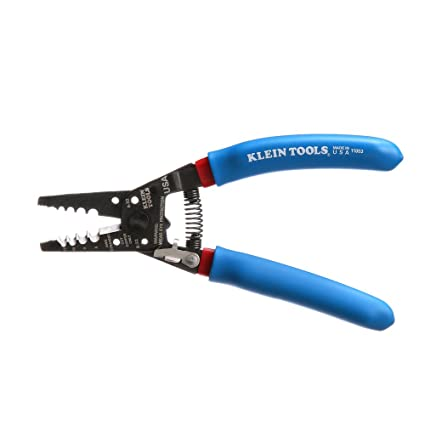 71e0dde9b0 Klein Tools 11053 Klein-Kurve Wire Stripper and Cutter for 6-12 AWG  Stranded Wire, 7-1/8-Inch - Klein Stripping - Amazon.com