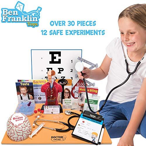 51eHDhNJUiL - Ben Franklin Toys Doctor Lab Pad Biology Kit