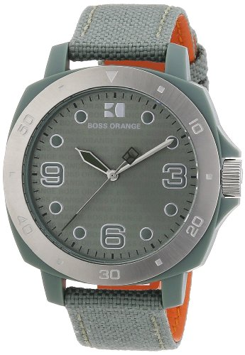 Hugo Boss Green Dial Green Plastic Unisex Watch 1502287