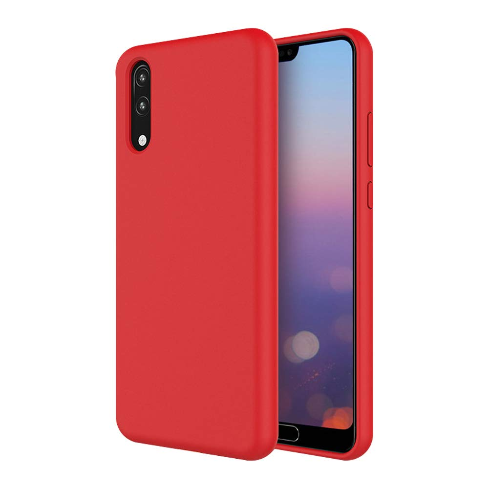 CoverTpu 3X Coque Samsung A10 Silicone Samsung A10 Ultra Mince Couleur Unie TPU /Étui Antichoc Protection Bumper Ultra L/éger Soft Flexible Antirayures Case Cover Rose Rouge Vert