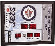 Team Sports America NHL Bluetooth Scoreboard Wall Clock