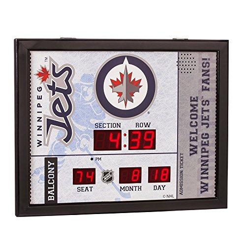 Winnipeg Jets Scoreboard Clocks Jets Scoreboard Clock