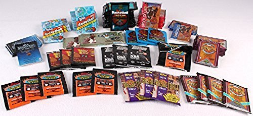 - 300+ Unopened Basketball Cards Collection in Factory Sealed Packs Featuring Vintage NBA and Some College Basketball Cards From the Late 80's and Early 90's