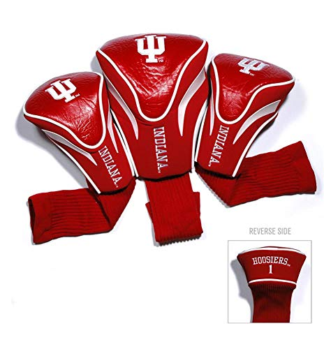 - Team Golf USA Indiana University Hoosiers 3 Pack Contour Headcover (Team Color)