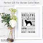 Dragonfly home & gift Dog Décor Border Collie Wall Art - Quote Print (8.5x11 Unframed) Pet Memorial Gifts | Dog Mom | New Puppy | Original Gifts for Dog Lovers 7