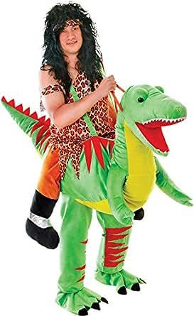 Amazoncom Halloween T Rex Unisex Fancy Dress Party Ride On Step In