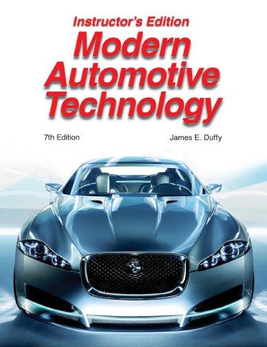 Modern Automotive Technology Instructor's Edition