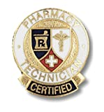 Prestige Medical Emblem Pin, Pharmacy