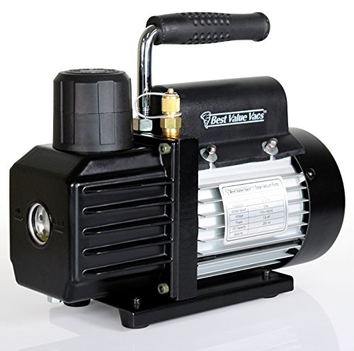 Oil Mist Pump Vacuum - Best Value Vacs VE115 3CFM Single Stage Vacuum Pump