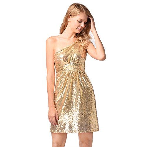 de FOLOBE vestido fiesta de A lentejuelas vestido mujer de la noche xHPfPR7w