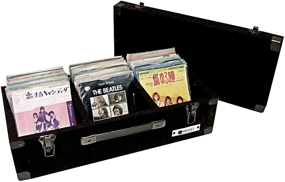 B0002DVBBW Odyssey C45200 Carpeted Case For 45 Rpm Vinyl Records (200) With Surface Mount Hardware 61vVbpEb11L._SL1000_
