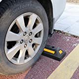 F COME 2 Pack Heavy Duty Rubber Parking Block