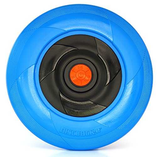 Tucker Toys Disc Jock-E – The Flying Disc That Plays Your Music – (Loud Disc)