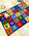 Hr 8ftx11ft Abc Puzzle (a-z And 1-9) Kids Educational Non-slip Rug (7.3''x10.2'') Please Check All The Pictures