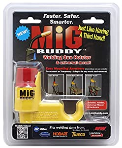 Mig Buddy MB-U15 Welding Gun Holster from GeorgeB Design LLC