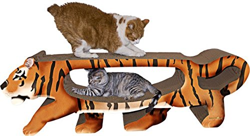 Imperial Cat Giant Tiger Scratch 'n Shape