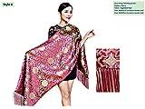 Brocade Shawls Silk Scarves Big Size Business Gifts Handicrafts Stoles