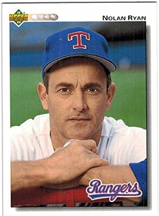 Amazoncom 1992 Upper Deck Texas Rangers Team Set With Ivan