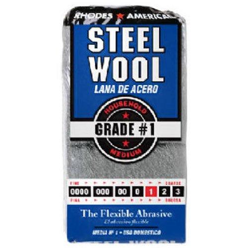 Steel Wool Wax (HOMAX PRODUCTS 10121111 Number 1 Steel Wool Pad, 12-Pack)