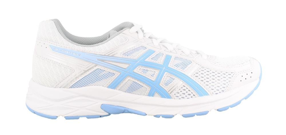 ASICS Gel-Contend 4 Women's Running Shoe, White/Bluebell, 5 M US