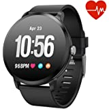 Fitness Tracker Smart Watch, Activity Tracker with Heart Rate Monitor, IP67 Waterproof Smart Fitness