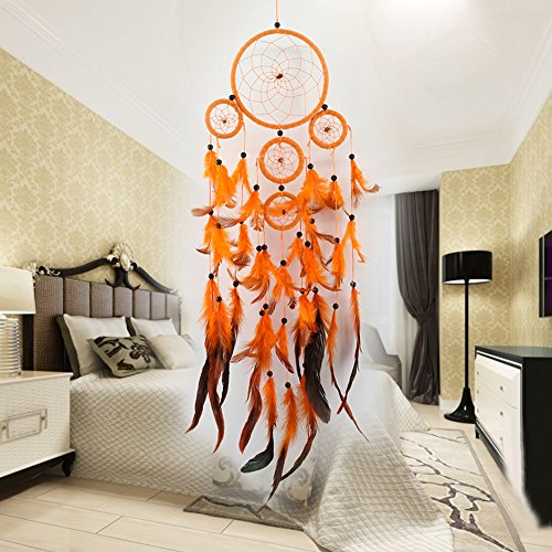 miyazaki Five-rings Orange Dream Catcher Handmade Dreamcatcher
