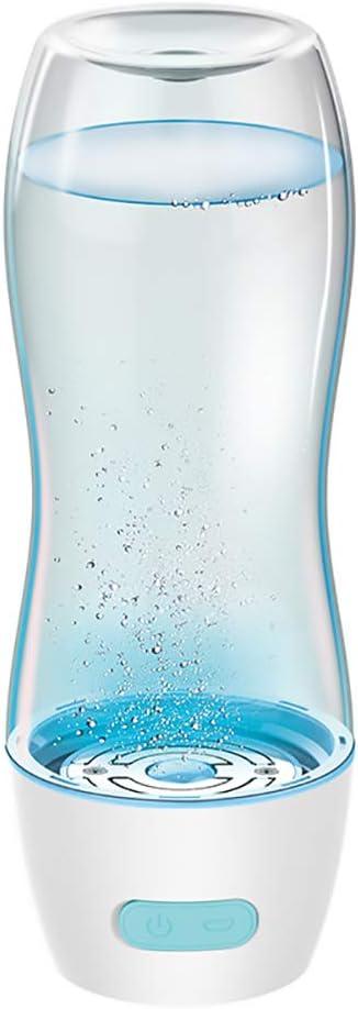 FGKING Taza de Agua Inteligente portátil, Botella de Agua de hidrógeno, Generador de Agua ionizada Botella de Agua hidrogenada de Taza de energía alcalina, 350ML