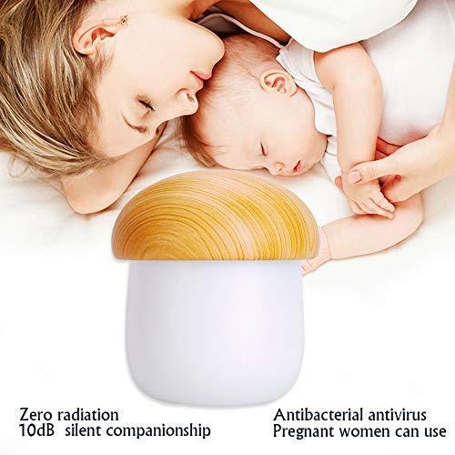 Dreams Lamp Mist Of (DrMa USB Mini Humidifier & Aroma Lamp & 2-Color LED Mushroom Nightlight, Baby Steam Face Skin Care Tools Ultrasonic Air Purifier - Auto Shutdown Protection)