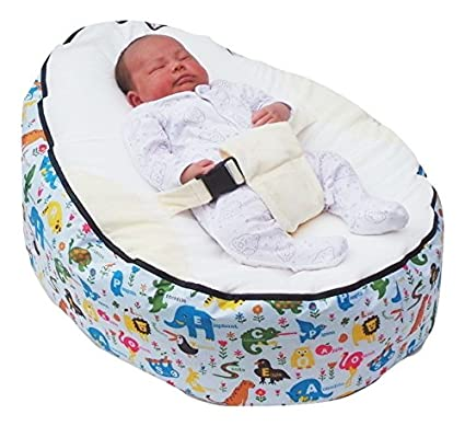 Strange Amazon Com Mama Baba Baby Bean Bag Without Filling Toys Bralicious Painted Fabric Chair Ideas Braliciousco