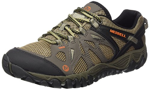 Merrell Men's All Out Blaze Aero Sport Hiking Water Shoe, Khaki, 14 M US