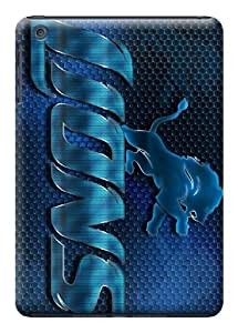 DIY NFL Detroit Lions Finest Hard Cover Case For iPad mini