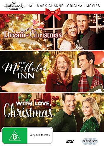 Hallmark Christmas 3 Film Collection (A Dream of Christmas/The Mistletoe Inn/With Love Christmas) (A Dvd For Christmas Dream)