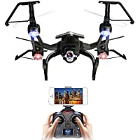 HIOTECH Wifi Drone 2.4G RC Quadcopter 300m Remote Control with 2.0MP HD Camera FPV Real Time Live Video