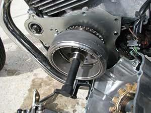 Suzuki Eiger Flywheel Removal