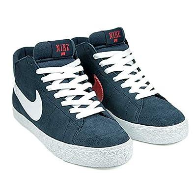 new style e72c6 14c81 ... promo code nike sb blazer mid skate shoes lr armory navy white uni red  191e8 e250e