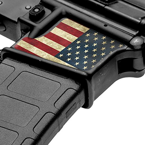 GunSkins Magwell Skin Specialty Vinyl Decal for AR-15/M4 Lower Receivers -