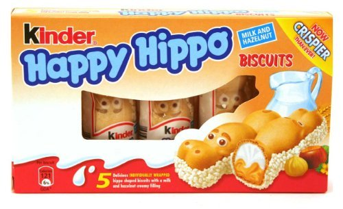 Price comparison product image Kinder Happy Hippo - Hazelnut, .7oz x 5
