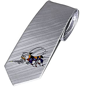 Necktie / Tie with U.S. Naval Construction Force (CBs, SeaBees), logo by ExpressItBest