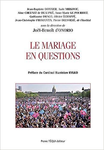 En ligne téléchargement gratuit Le mariage en questions epub pdf