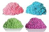 Kinetic Sand NEON Colors GIFT SET! | Includes NEON PINK 5 oz. - NEON BLUE 5 oz. - NEON GREEN 5 oz. - NEON PURPLE 5 oz. |