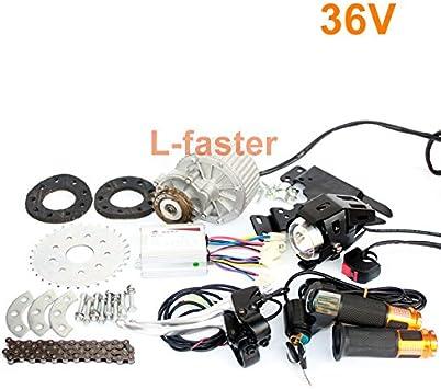 L-faster Kit más nuevo 450W E-Moto Kit eléctrico múltiple de ...